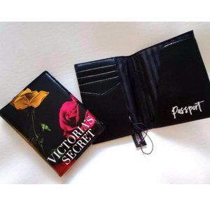 NEW Victorias Secret floral Passport case holder